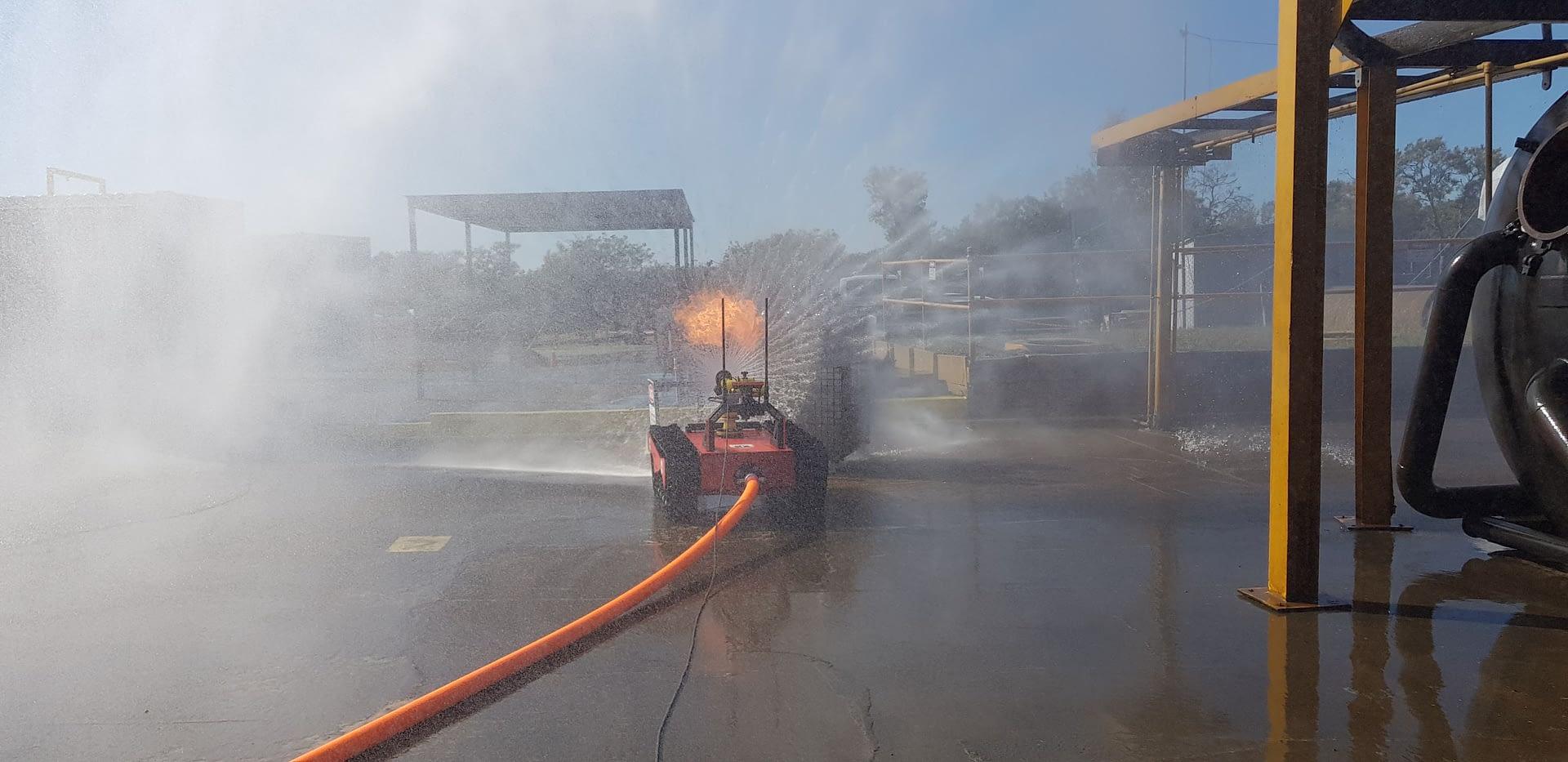 OzBot Titan handles the heat